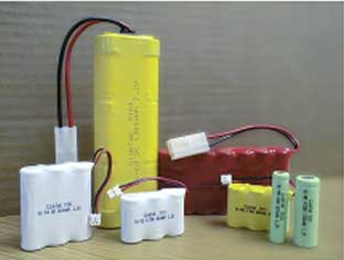 Batteries and Battery packs Ni-Cd Ni-MH