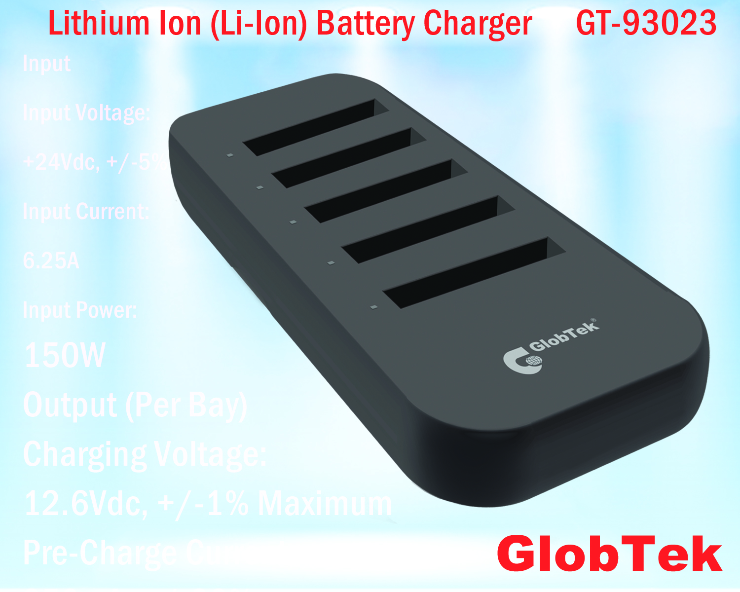 In response to increased concern and requirements of portable equipment and device manufacturers for safety related to Lithium Ion (Li-Ion) batteries, GlobTek's latest generation battery charger designs...
