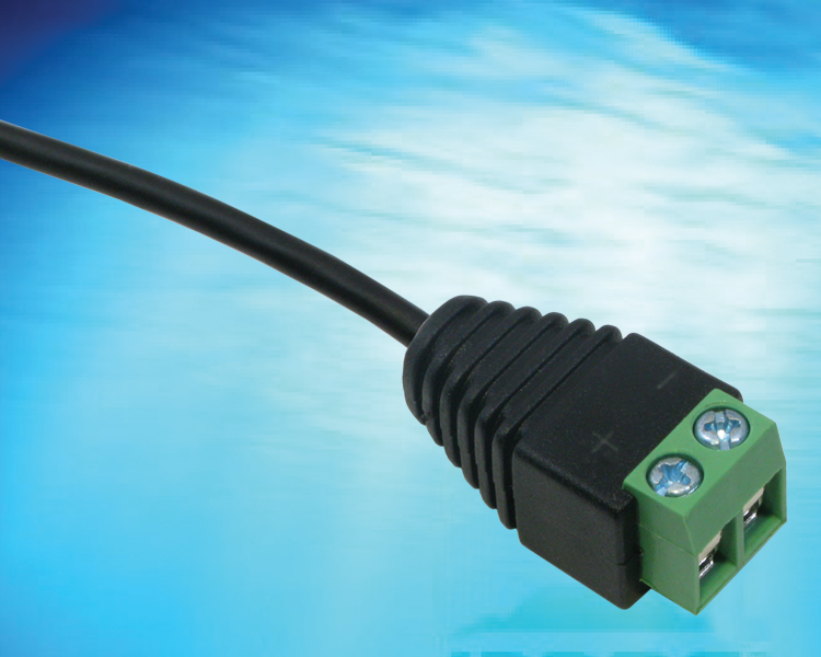 "Molded 5mm Pitch Terminal Block (0.20"" or 1/5"" Pitch) style low voltage plug provides a low cost alternative to assembled type in power supply and low voltage cabling applications"