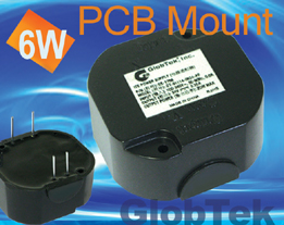 Potted PCB Mount Power Supply Meets IP64 Ingress Protection 6W