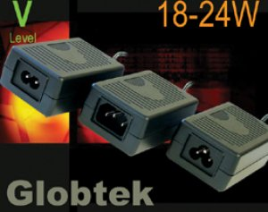 These desktop style Power Supplies with IEC 60320/ C6, C8 or C14 inlets have Double-Enforced Insulation Mechanical Configurations and Regulated Outputs voltages from: 10 to 24Vdc in 0.1V increments. GlobTek's...