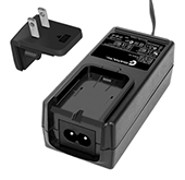 GTM91128LIXCEL, ITE / Medical Power Supply, Wall Plug-in+Desktop Combination, Li-Ion Battery Charger, , Input Rating: 100-240V~, 50-60 Hz, IEC 60320/C8 AC Inlet connector, Output Rating: 12.6 Watts, 4.2-12.6V in 0.1V increments, Approvals: SIQ SIQ SIQ SIQ China RoHS CE RoHS China RoHS WEEE PSE Ukraine GOST-R Double Insulation cRUus ETL CB VCCI IP54
